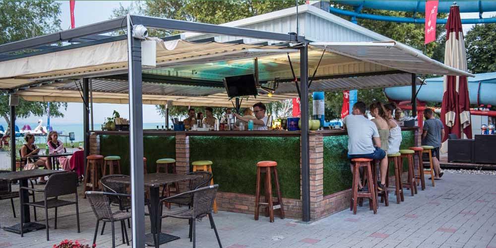 Aranypart Camping Balaton Siófok Wunderbar cocktail